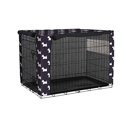 TUYU - Funda para jaula de perro resistente al viento, para perros medianos y grandes, poliéster para perros 1911FCZ0115Y06 (XS (25 x 19 x 20 cm)