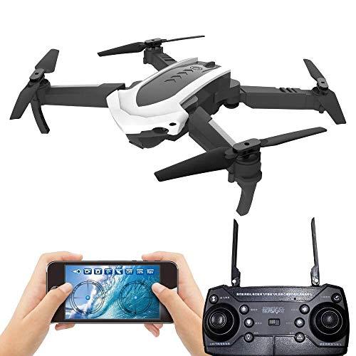 ADLIN Juguetes educativos al aire libre, conexión Wi-Fi Cámara Drone FPV HD 720p, mejores aviones no tripulados for principiantes con el mantenimiento de altitud, control de voz, reconocimiento de ges