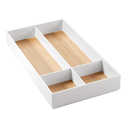 iDesign 90710EU RealWood Schubladen-Organizer für den Waschtisch, Pflegeprodukte, 40,5 x 20,2 x 4,9...