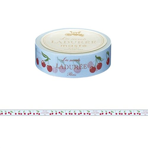 Maste Mark S & Les Secret Laduree Limited Edition Washi tape Sweet Cherries Paris modello Japan Edition