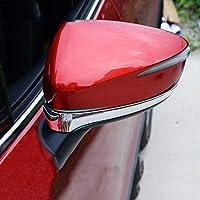 マツダCX5 CX5 2015-2016の場合、車のバックミラー装飾トリムバックミラーカバートリムストリップエクステリアトリムアクセサリー