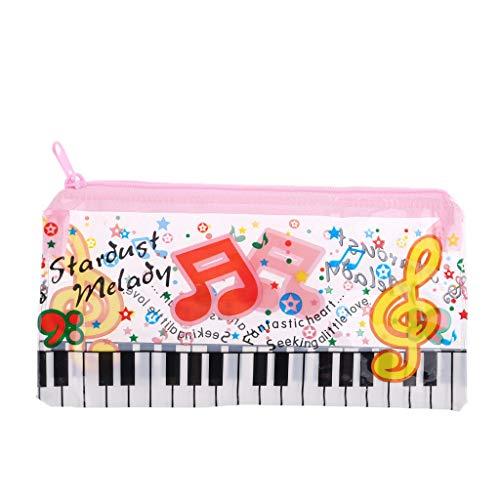 ruiruiNIE Music Note Piano Clavier Crayon Étui en...