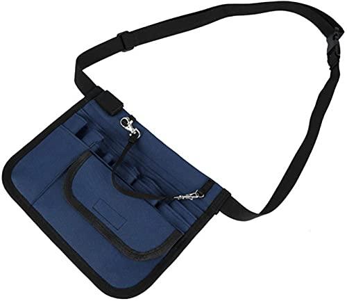 DDSGG Bolso de la Cintura Nurse Pro Pack, Bolsa de Almacenamiento de enfermería Mano Multifuncional Bolsa de Almacenamiento, Bolsa de Cintura práctica Bolsa de Almacenamiento de la Enfermera Bolsillo