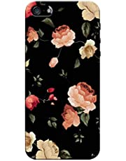 Pikkme Colorful Multicolor Flower Floral Designer Printed Hard Back Case and Cover for Apple iPhone 6 / 6S (for Girls and Womens)