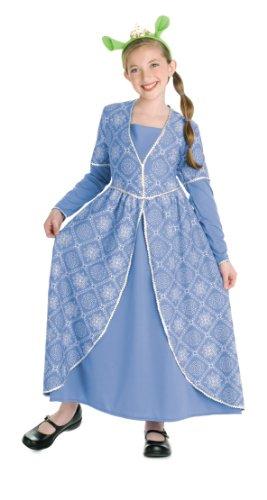 Costume Principessa Fiona Bambina di Shrek 3 Small