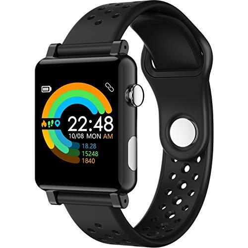 SmartWatch LLD B71 Pantalla de color de 1.3 pulgadas IP67 Reloj inteligente impermeable, recordatorio de mensajes de soporte / Monitor de ritmo cardíaco / Monitoreo de oxígeno en la sangre / Monitoreo