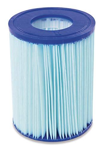 Bestway Flowclear Antimikrobielle Filterkartusche, Gr.II: 10,6 x 13,6 cm, Doppelpack