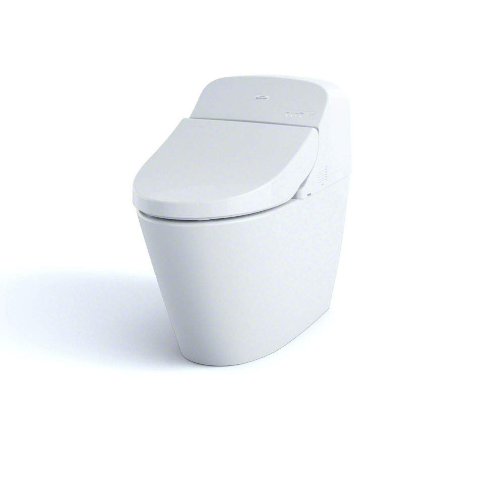 Toto MS920CEMFG#01 1.28-GPF/0.9-GPF Washlet with Integrated Toilet G400,  Cotton White : Amazon.in: Home Improvement