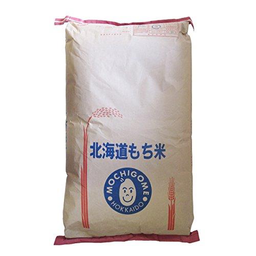令和2年産 きたゆきもち 玄米 もち米 30kg 北海道産