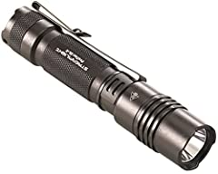 500 lumen edc tactical flashlight Multi Battery Versatility, 2 x CR123A or 1 x Streamlight Rechargeable Kit Aluminum housing with type II military Spec Light, extremely durable and abrasion resistant Includes 2 CR123A Batteries, Rechargeable Battery ...