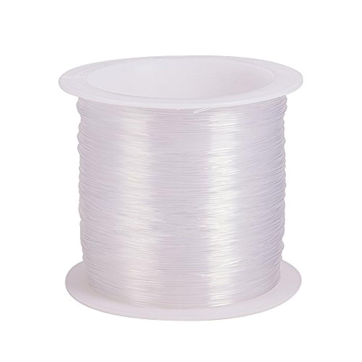 Pandahall 1 Roll 30m 0.45mm Crystal Nylon Thread Fishing Line Wire for Craft Bracelet Beads jv62492822897