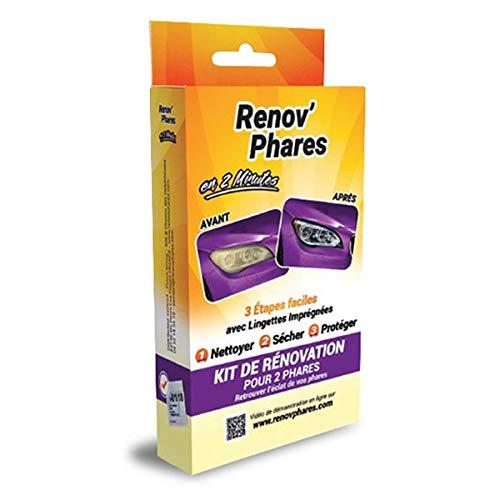 Irontek Accessoires d'intérieur Renov'phares kit de rénovation Optique pour phares