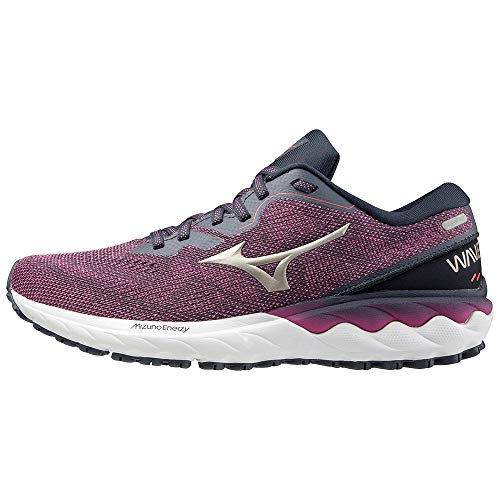 Mizuno Wave SKYRISE 2 (W), Zapatillas de Running Mujer, Ibis Rose/Platinum Gold/India Ink, 38 EU