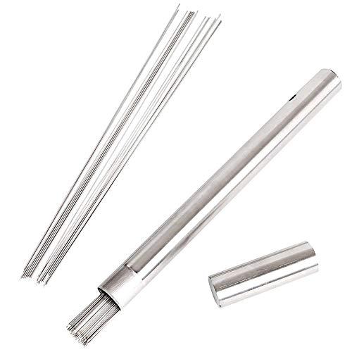 ASDAF Edelstahl-Grill Runde Prods Spieße Werkzeuge Grill Zubehör mit Storage Eimer 100pcs / Lot Widen Safety Clean Grill Prods