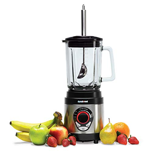 Tribest DB-950 Dynablend High Power Home Blender, Stainless Steel and Glass