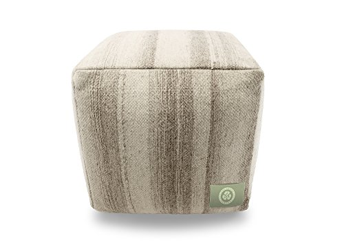 The Earth Company - 100% Pure Wool Pouf