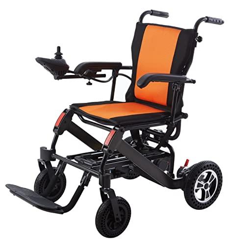 Rubicon Lightweight Foldable Electric Wheelchair Motorized Power Wheelchairs Silla de...
