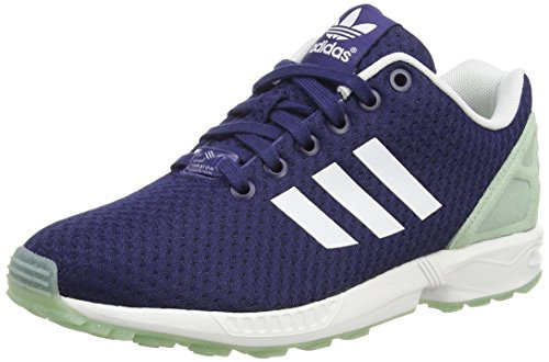 adidas - ZX Flux W - B35314 - Color: Green-Navy Blue - Size: 6.5