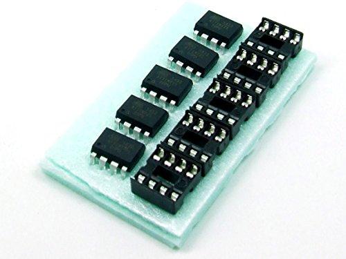 Just-Honest POPESQ® - 5 STK. / pcs. x ATTINY25-20PU mit/with 5 x DIP8 MCU ATMEL AVR Arduino kompatibel/Compatible #A90