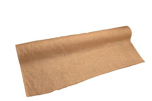 LA Linen 60-Inch Wide Natural Burlap , 20 Yard Roll