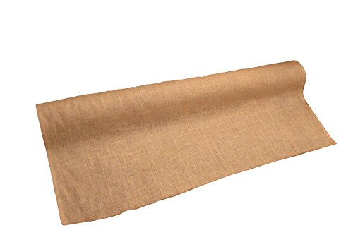 LA Linen 60-Inch Wide Natural Burlap , 20 Yard Roll