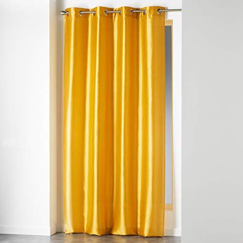cortinas estampadas con trabillas