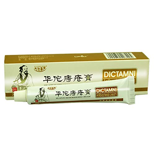 Hemorrhoids Ointment Cream, Chinese Medicine HuaTuo, Shrink Swollen Hemorrhoid Tissue, Reduce Heat and Inflammation, Relieve Hemorrhoid Pain, Clear Away Toxic Materials, Remove Decayed Tissues