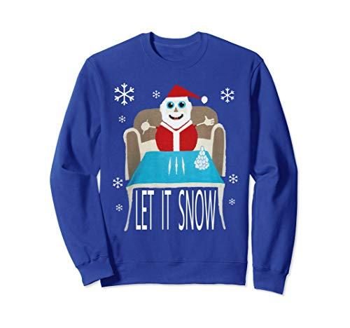 Ugly Christmas Hockey Player Sweater Hanes Tagless Tee T-Shirt