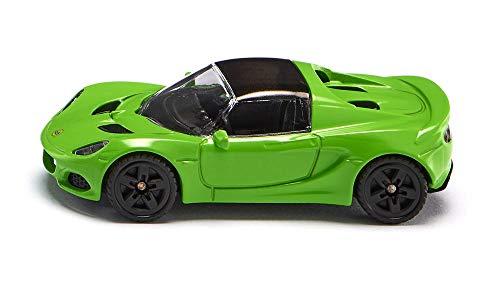 SIKU 1531, Lotus Elise Sportwagen, Metall/Kunststoff, Grün, Kombinierbar mit SIKU Modellen im gleichen Maßstab