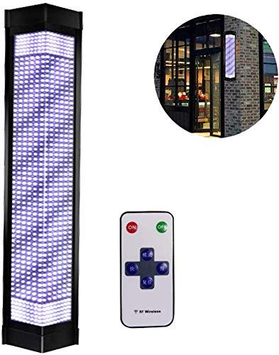 MXCYSJX Barber Pole Roterende Verlichting Outdoor Waterdichte Save Energie LED Strips Spinning Kappers Salon Teken Licht Wandlamp met Afstandsbediening