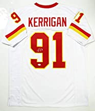 Ryan Kerrigan Autographed Jersey - White Pro Style W *9 - JSA Certified - Autographed NFL Jerseys