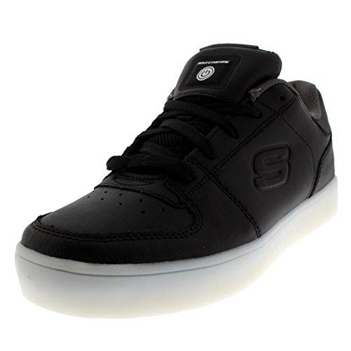 Skechers Jungen Energy Lights Elate Sneaker, Schwarz (Black), 28.5 EU