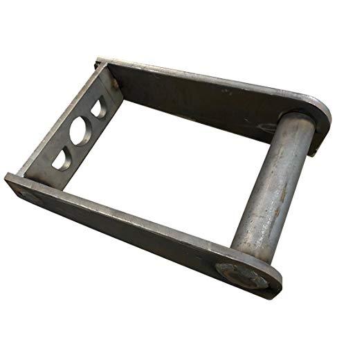 Rahmen MS03 Aufnahme zum anschweißen/Schnellwechsel Adapter SW03 Minibagger/Lasergeschnitten/Made in Germany