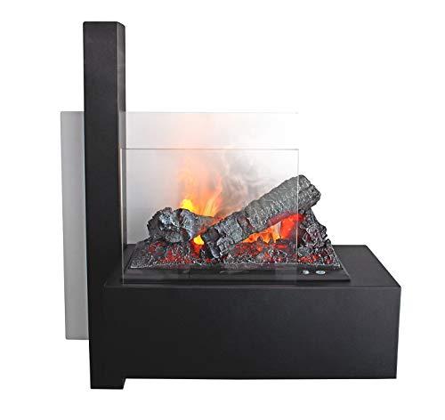Elektrokamin GLOW FIRE Wall, Opti Myst Wasserdampf Feuer, Wandkamin mit Fernbedienung, regelbare Flammenstärke