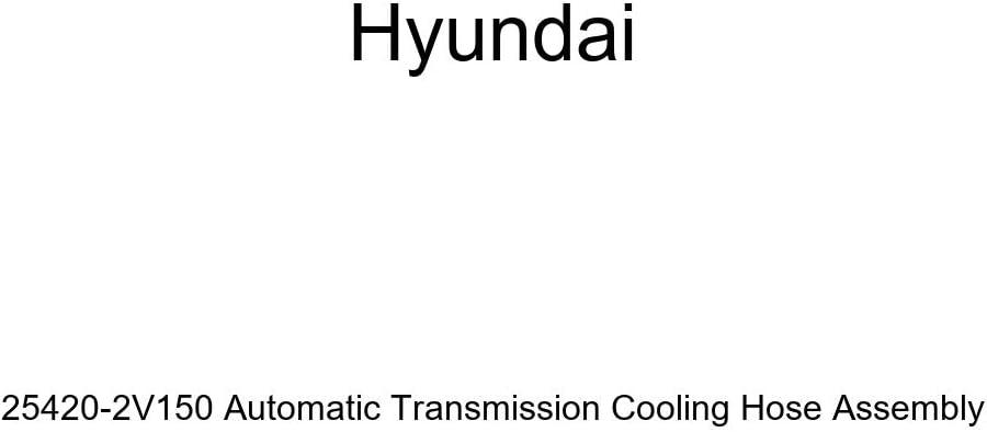Genuine Hyundai 25420-2V150 Automatic Max 54% OFF Transmission Cooling Cheap Hose