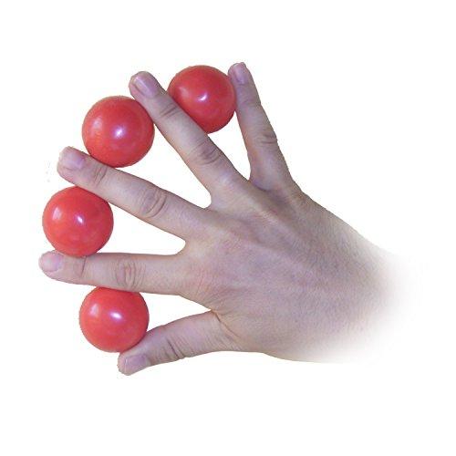 The Multiplying Balls - Ballvermehrung | Magic Trick für die Bühne | Zauberrequisiten und Zauber-Artikel | Bälle bzw. Kugeln erscheinen zwischen den Fingern | Zaubertricks für Erwachsene | Tricky Ball