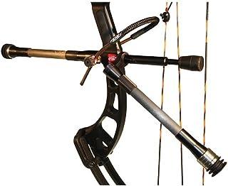 AAE Hot Rodz Western Hunter Stabilizer, Twin 8 and 10-Inch RH, Black