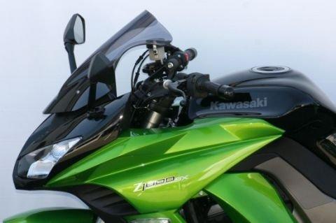 Racingscheibe MRA für Kawasaki Z 1000 SX Bj. 2011-13 schwarz Verkleidungsscheibe