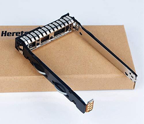 Heretom - 2 Pezzi Disco Rigido Vassoio SFF SAS SATA 2,5' Tray Caddy per HP ProLiant G9 G8 Gen9 Gen8 Applicabile a tutti gli anni di Server, Compatibile Con 651687-001 (solo per SFF da 2,5') Rev4.010
