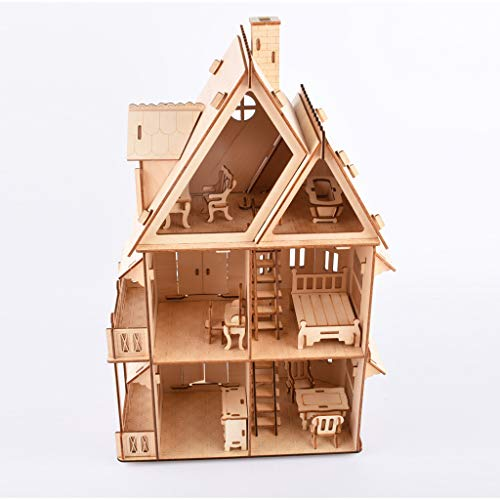 Puzzles für Erwachsene, DIY Holzmöbel Hand Craft Miniatur Box Kreatives Geschenk Spielzeug 3D Puzzle A Eaylis