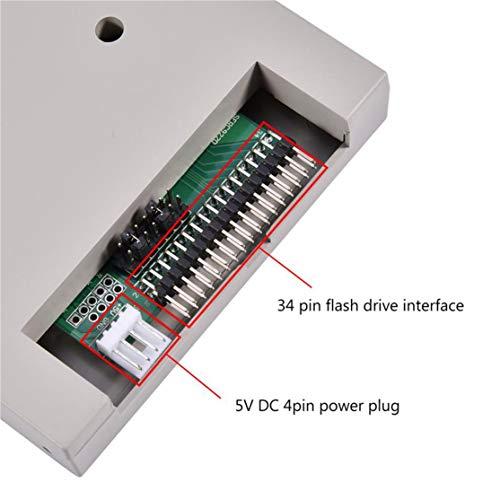 Candyboom SFR1M44-FU-DL Emulator für USB-Diskettenlaufwerke für Korg Roland 720 KB elektrische Orgeldisketten-Laufwerksemulatoren
