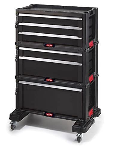 Werkstattwagen'All Drawer' mit 6 Schubladen