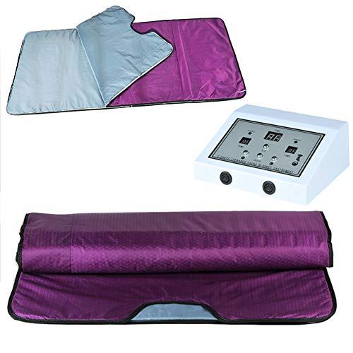 Far Infrared Sauna Decke Dampf-Decke 2 Zones (FIR) Körperformer für Gewichtsverlust und Körperformung intensely 180x80cm