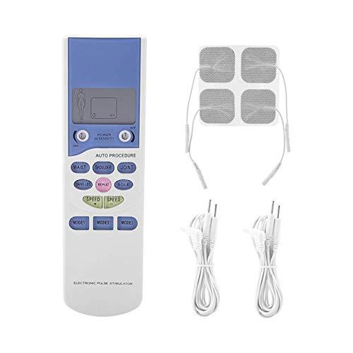 ELXSZJ XTZJ Tens Unit Muscle Stimulator - Masajeador de Pulso electrónico,...