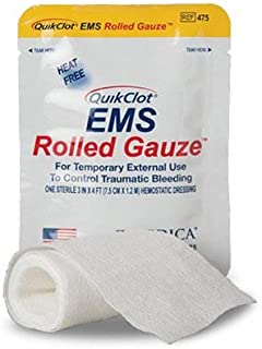Z-Medica EMS Rolled Blood Clotting Gauze