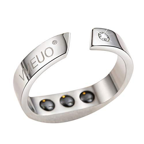 Tuneway Anti Schnarch Ring Magnet Feld Therapie Akupressur Behandlung Gegen Schnarchen Schnarch Stopper Finger Ring Schlaf Mittel (M)
