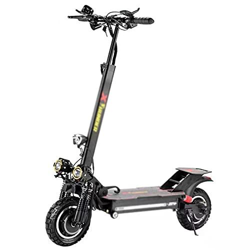 LLSM Scooter Eléctrico Plegable, Scooter Eléctrico De Doble Unidad, Scooter Eléctrico Potente con Neumáticos De 11 Pulgadas Y Motor 1000W, Adecuado para Adultos Y Niños.