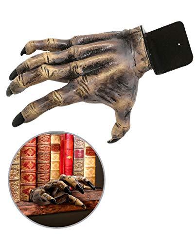 Horror-Shop Halloween Zombie Hand Deko Prop 24 cm