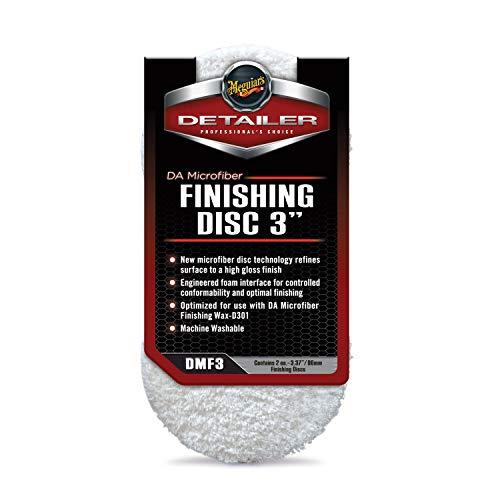 "Meguiar's DMF3 DA 3"" Microfiber Finishing Disc, 2 Pack Maryland"