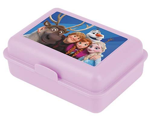 Baagl Eiskönigin Brotdose Kinder für Schule – Lunchbox für Mädchen, Jungen, Kindergarten – Jausenbox, Brotzeitbox, Brotbox, Snackbox (Frozen)